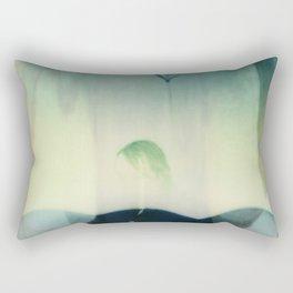 Erasure and texture Rectangular Pillow