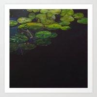 Water meditation III Art Print
