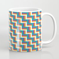 illusion Mugs featuring Illusion by Jennifer Agu