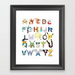 Pokebet Framed Art Print