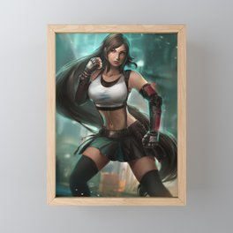 FF7 Framed Mini Art Print