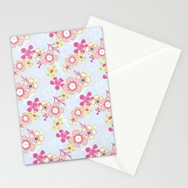 Sunkissed Pale Blue Stationery Cards