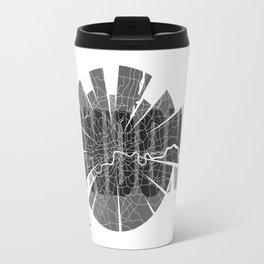 London Map Travel Mug