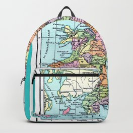 Vintage Map  of England and Wales Backpack