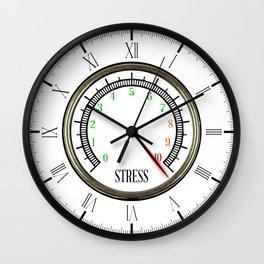 Stress Meter Wall Clock