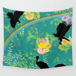 Quirky Nature Wall Tapestry