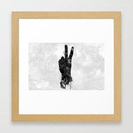 Dueces Framed Art Print