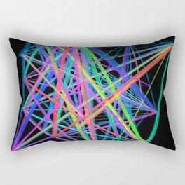 Colorful Rainbow Prism Rectangular Pillow