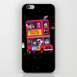 Universal Cereal Bus iPhone Skin