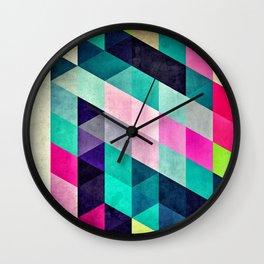 Cyrvynne xyx Wall Clock