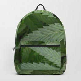 Pot Leaf on a Plant Backpack