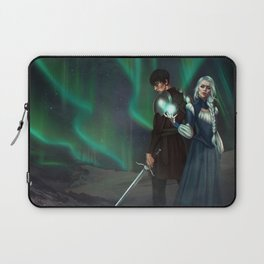 Snow Queen Sacrifice by K.M. Shea Book Cover Laptop Sleeve
