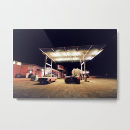 The Pink Roadhouse Metal Print