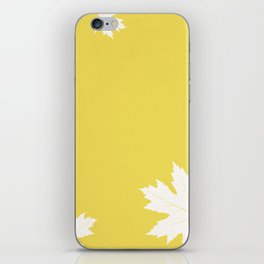 Simly falling iPhone Skin