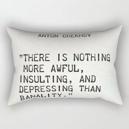 Anton Chekhov quote Rectangular Pillow