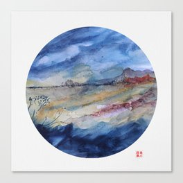 genius loci 2 Canvas Print