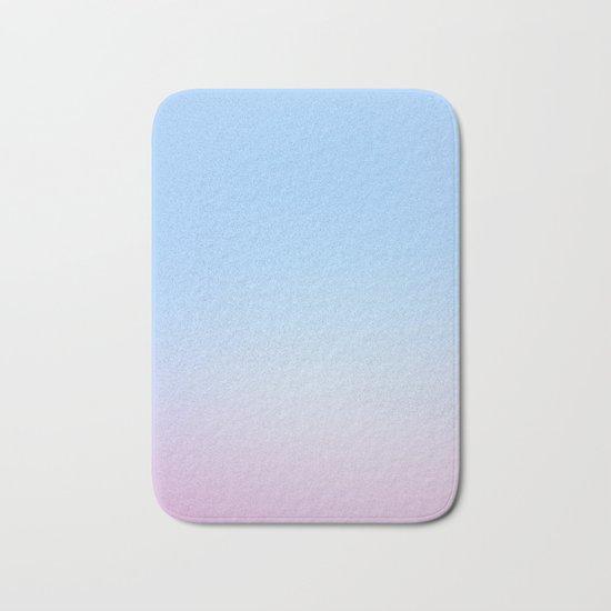 Cotton Blue Gradient Bath Mat