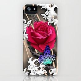 Rose Tattoo iPhone Case