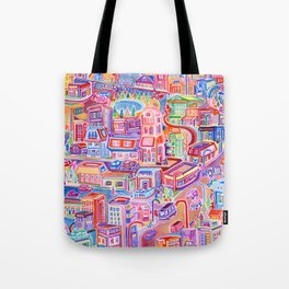 Big City Feeling Tote Bag