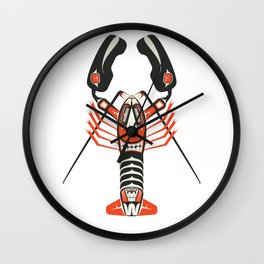The Lobster Wall Clock