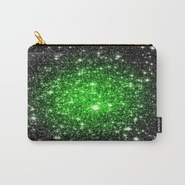 galAxy. Stars Lime Green Carry-All Pouch