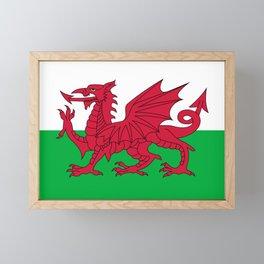 Welsh Flag Framed Mini Art Print