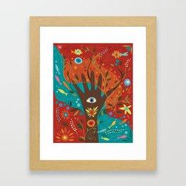 Fatima Hamsa Framed Art Print