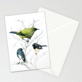 the cutie trio Stationery Cards