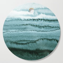 WITHIN THE TIDES - OCEAN TEAL Cutting Board