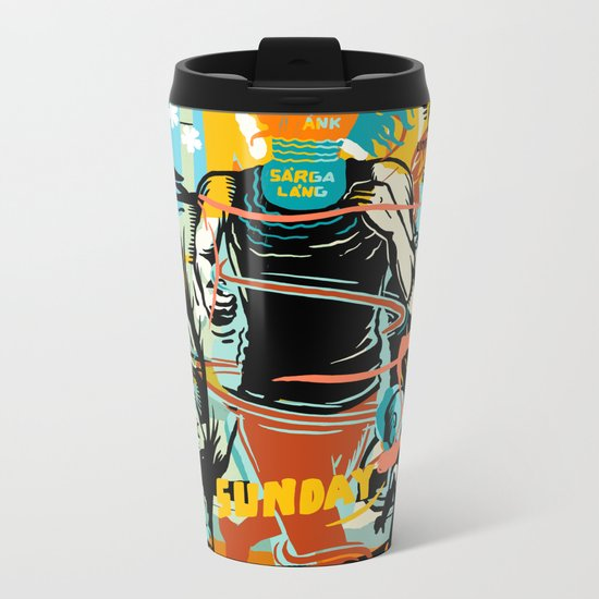 Sunday Metal Travel Mug