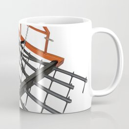 Agriculture harrow implement smoothing surface soil plough metal Coffee Mug