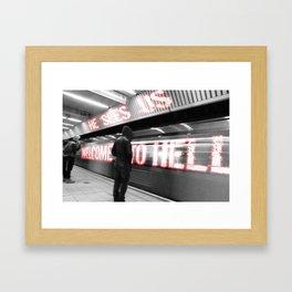 Limbo- Prison Framed Art Print