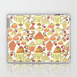 Sweet desserts. Laptop & iPad Skin