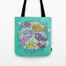 comic brawl Tote Bag