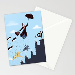 Let's fly away together on a magical adventure Stationery Cards