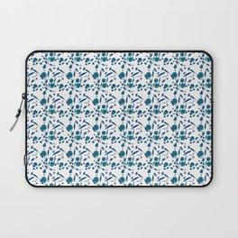 Blue Plankton Pattern Laptop Sleeve