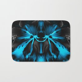 Honey Badger Flower Bath Mat