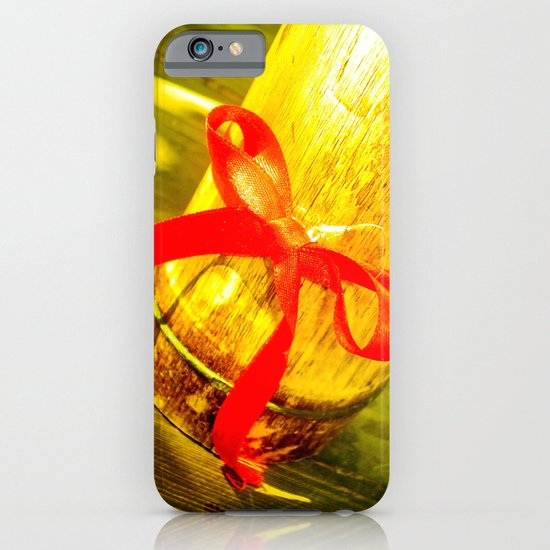 RED RIBBON iPhone & iPod Case