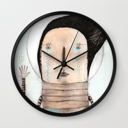 Letting go doesn't mean giving up... it means moving on.  Wall Clock