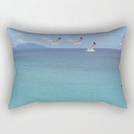 capri blues Rectangular Pillow