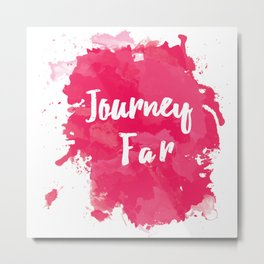 Journey Far Metal Print