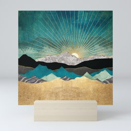 Peacock Vista Mini Art Print