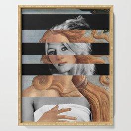 Botticelli's Venus & Brigitte Bardot Serving Tray