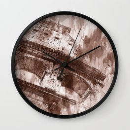 Rome, Colosseum Wall Clock