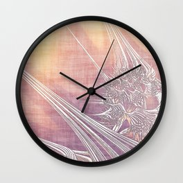 La Vie antérieure (My Former Life) Wall Clock