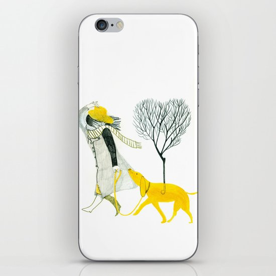 LOVE AND DOGS iPhone Skin