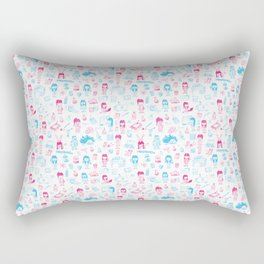 Scientific Design Rectangular Pillow