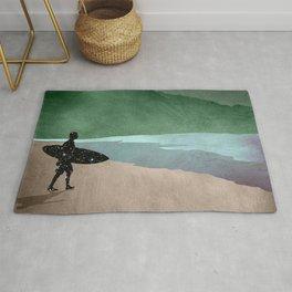 The Surfer Rug