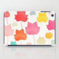 camus iPad Cases featuring tulipifera 1 by Garima Dhawan