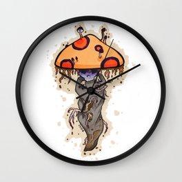 Odd Shroom Wall Clock